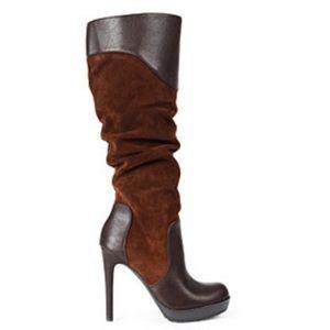 Jessica Simpson Brown Vaness High Heel Boots
